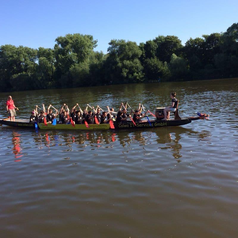 Fitclub - Drachenboot Rennen